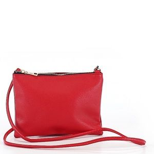 FOREVER 21 RED CROSSBODY BAG